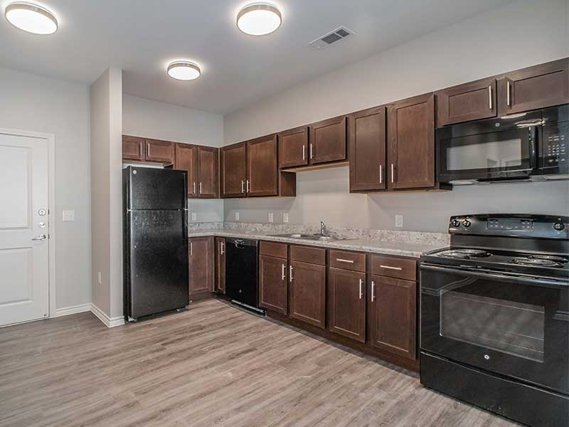 Forestwood Apartment Homes kitchen